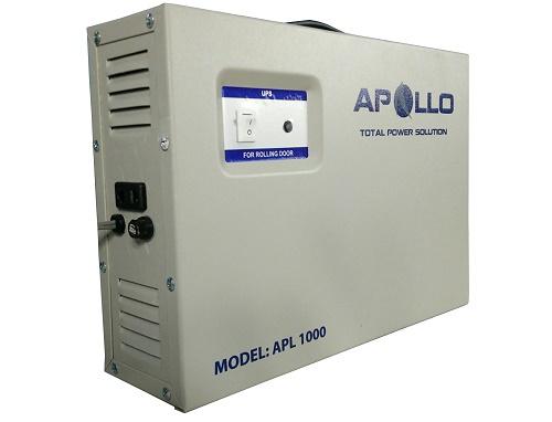 Bộ lưu điện cửa cuốn Apollo APL1000 có trọng lượng 8kg