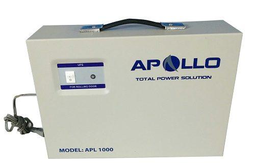 Thông số kỹ thuật và địa chỉ mua bộ lưu điện cửa cuốn Apollo APL1000