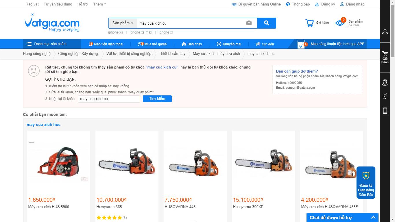 Top 3 website giúp bạn thanh lý máy cưa xích chạy xăng nhanh chóng